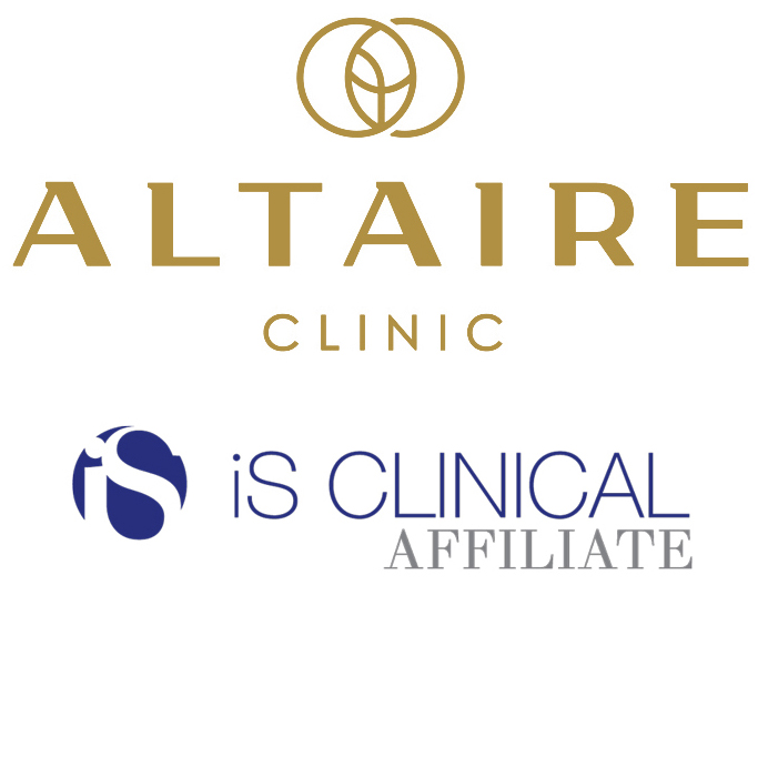 Altaire Clinic and iS CLINICAL Logo
